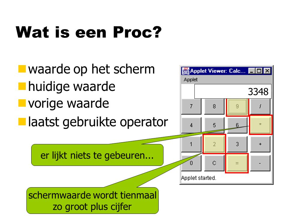 Wat is een Proc.