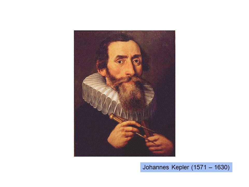 Johannes Kepler (1571 – 1630)