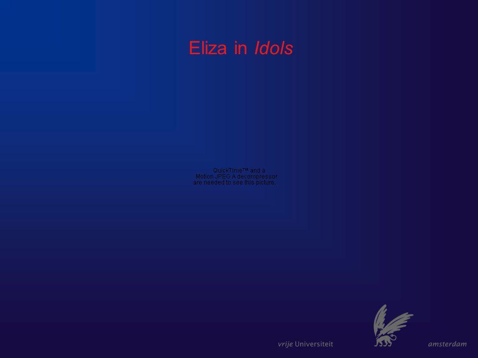 Eliza in Idols