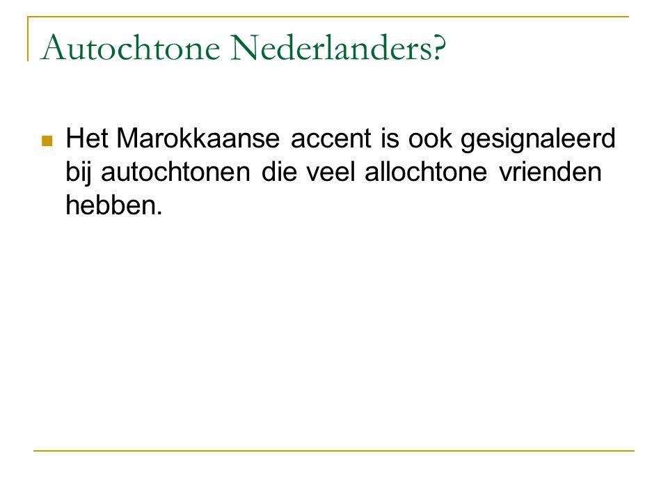 Autochtone Nederlanders.