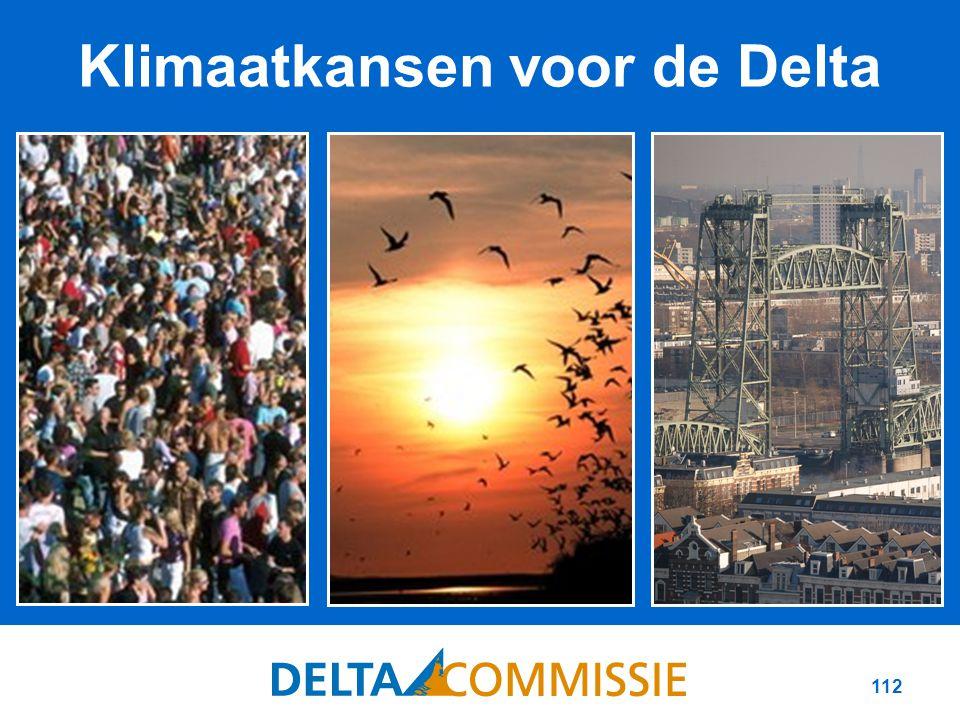 112 Klimaatkansen voor de Delta