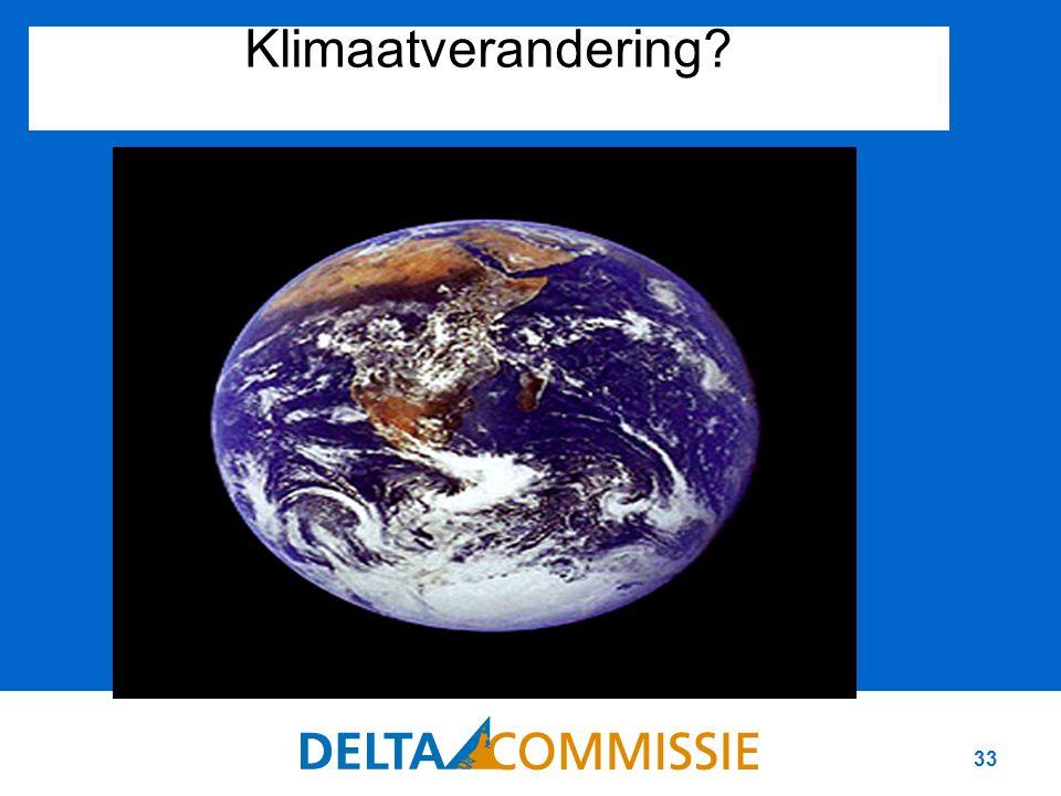 33 Klimaatverandering?