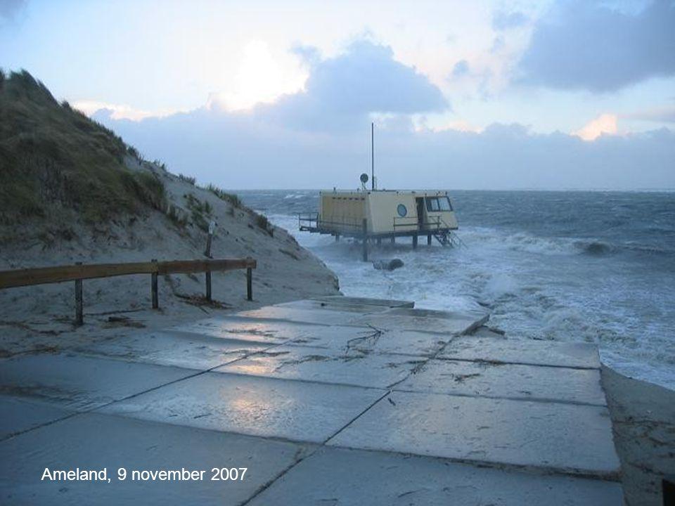74 Vlieland, 9 november 2007 Ameland, 9 november 2007