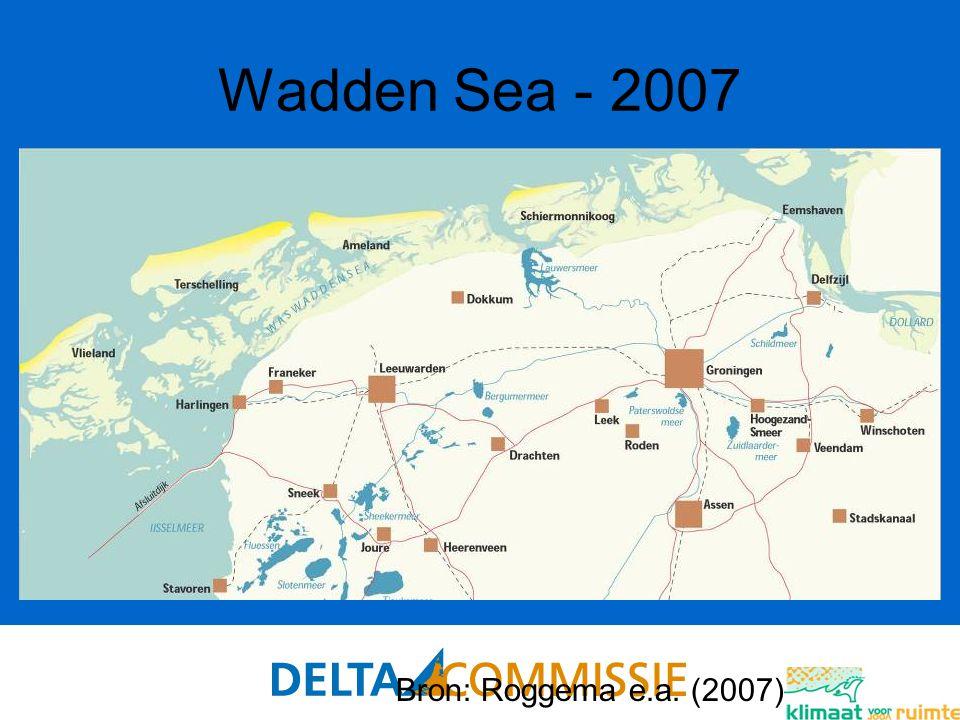 87 Wadden Sea - 2007 Bron: Roggema e.a. (2007)