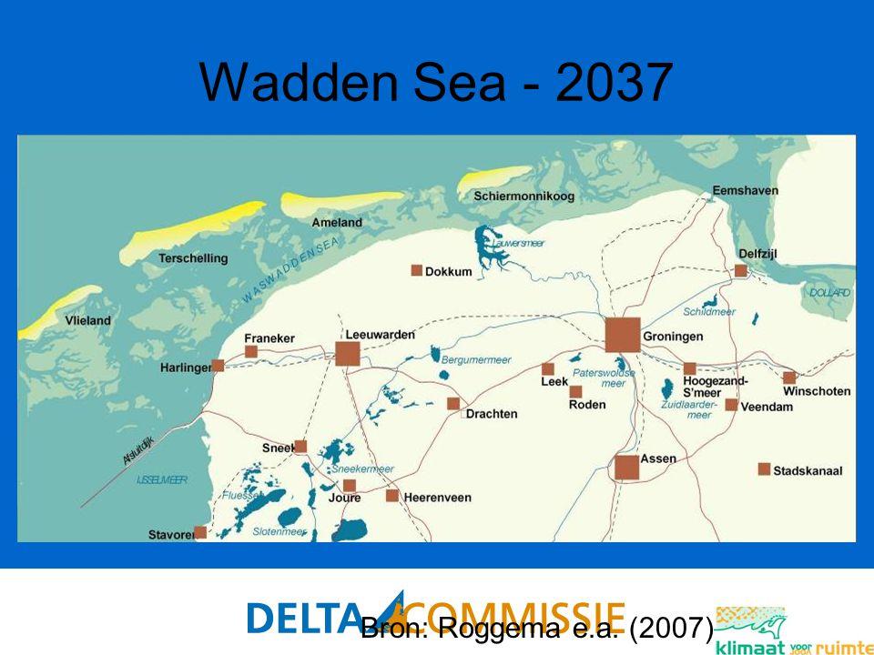 88 Wadden Sea - 2037 Bron: Roggema e.a. (2007)