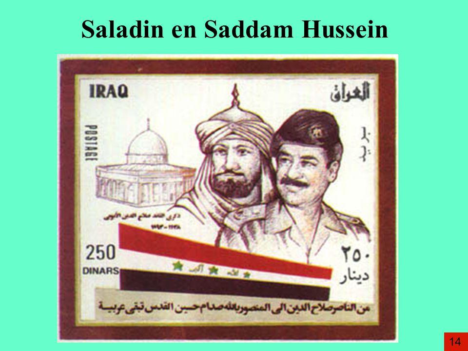 Saladin en Saddam Hussein 14