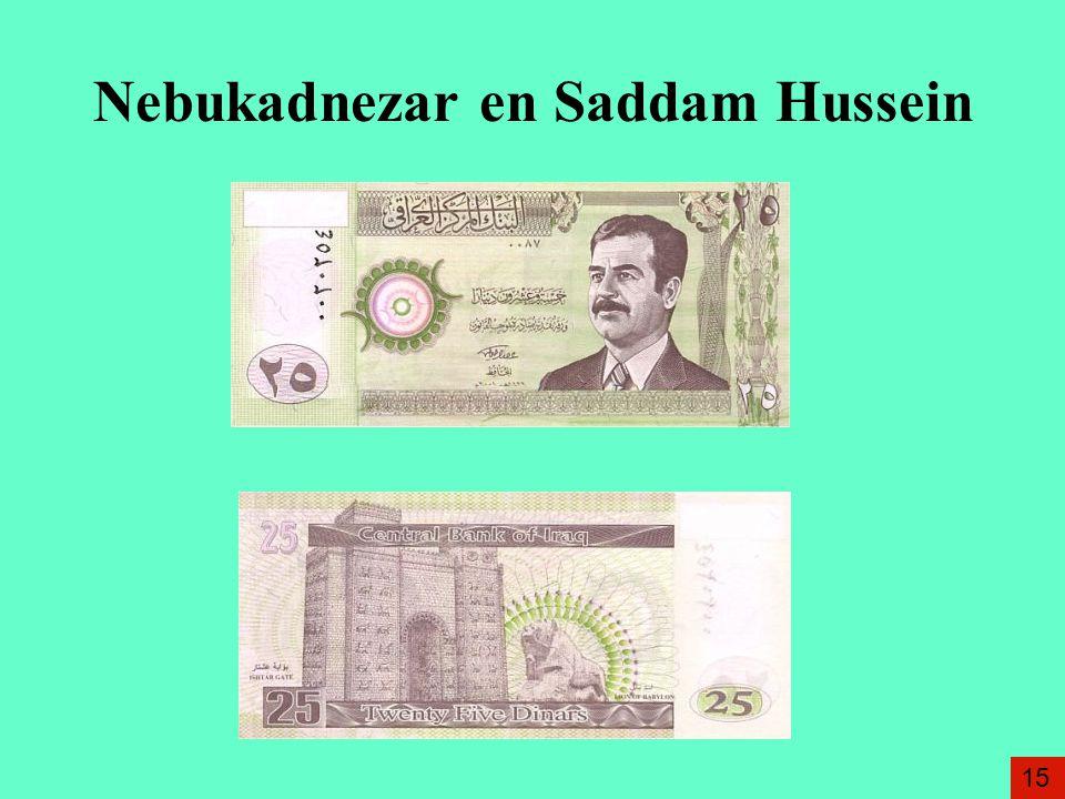 Nebukadnezar en Saddam Hussein 15