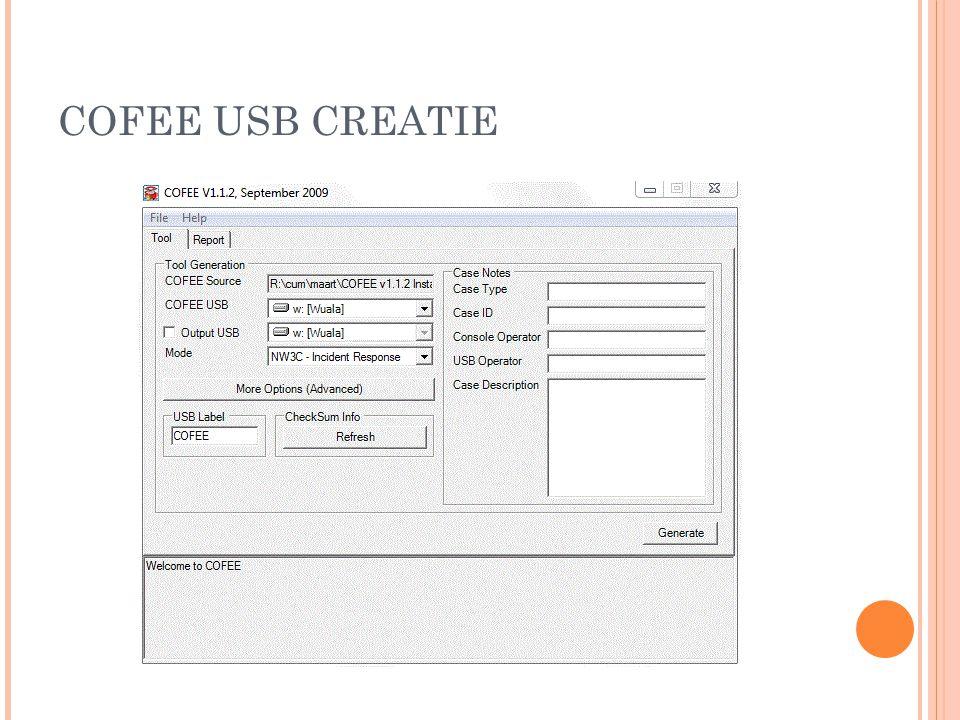 COFEE USB CREATIE