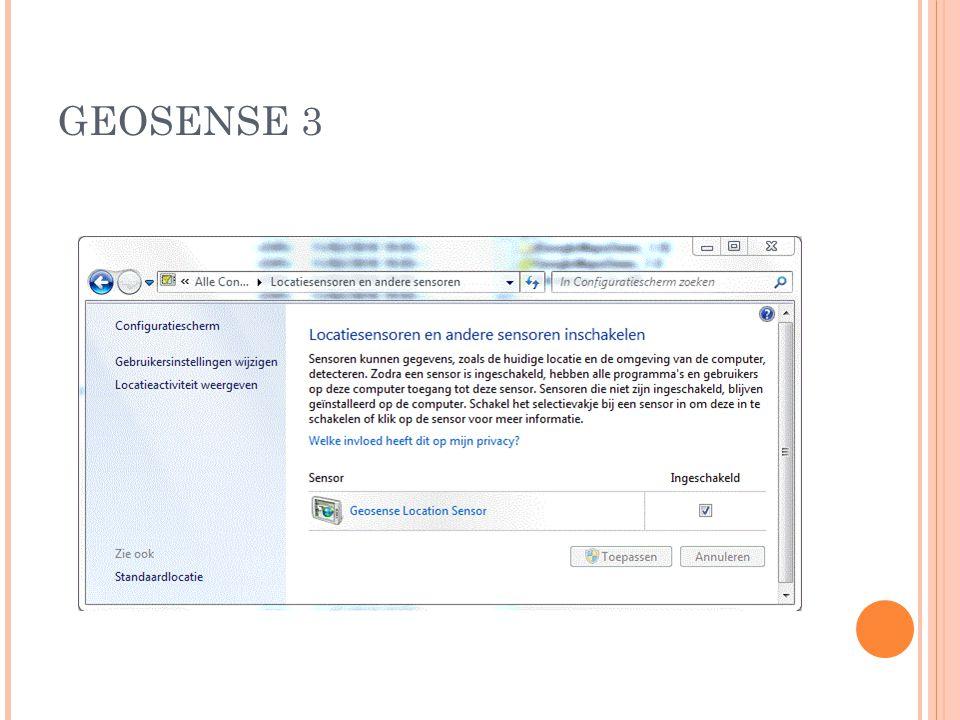 GEOSENSE 3