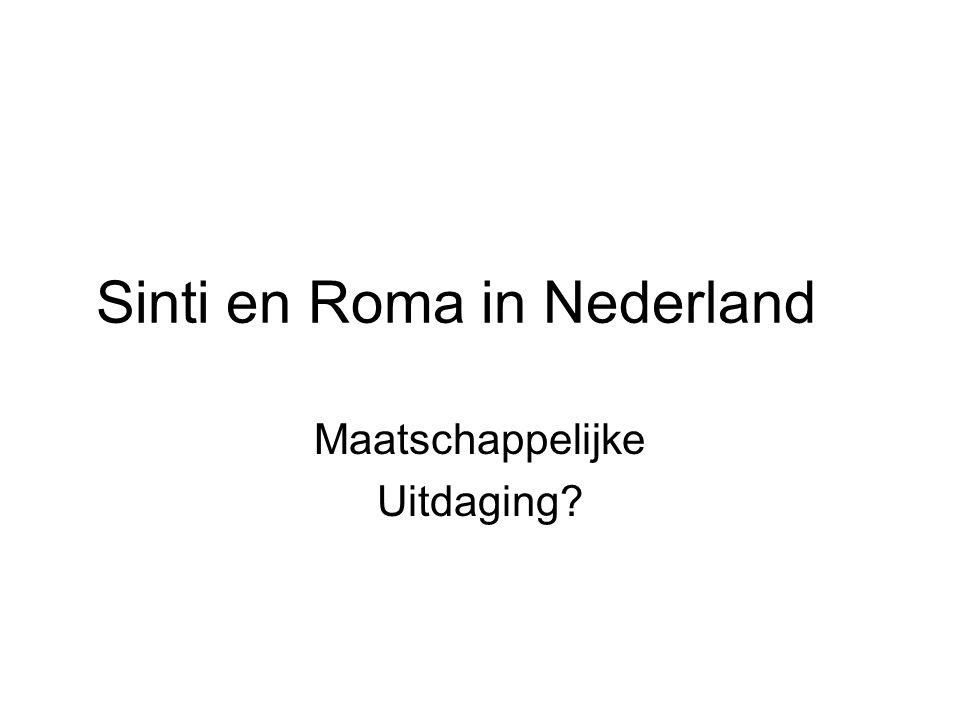 Sinti en Roma in Nederland Maatschappelijke Uitdaging