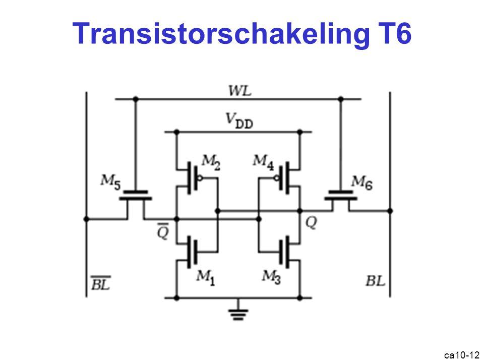 Transistorschakeling T6 ca10-12