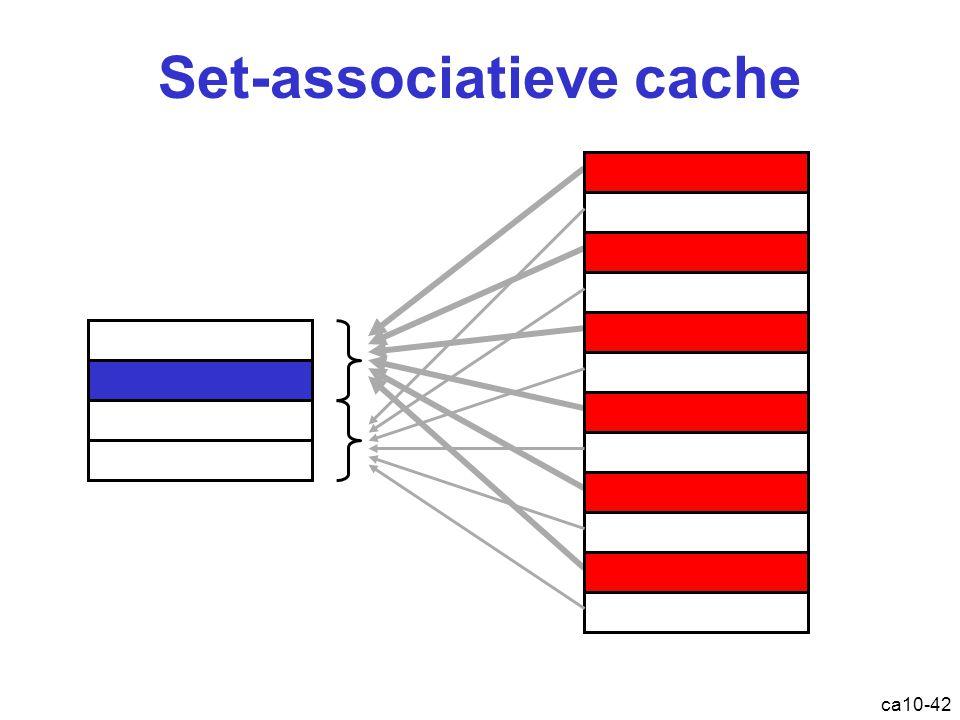 ca10-42 Set-associatieve cache