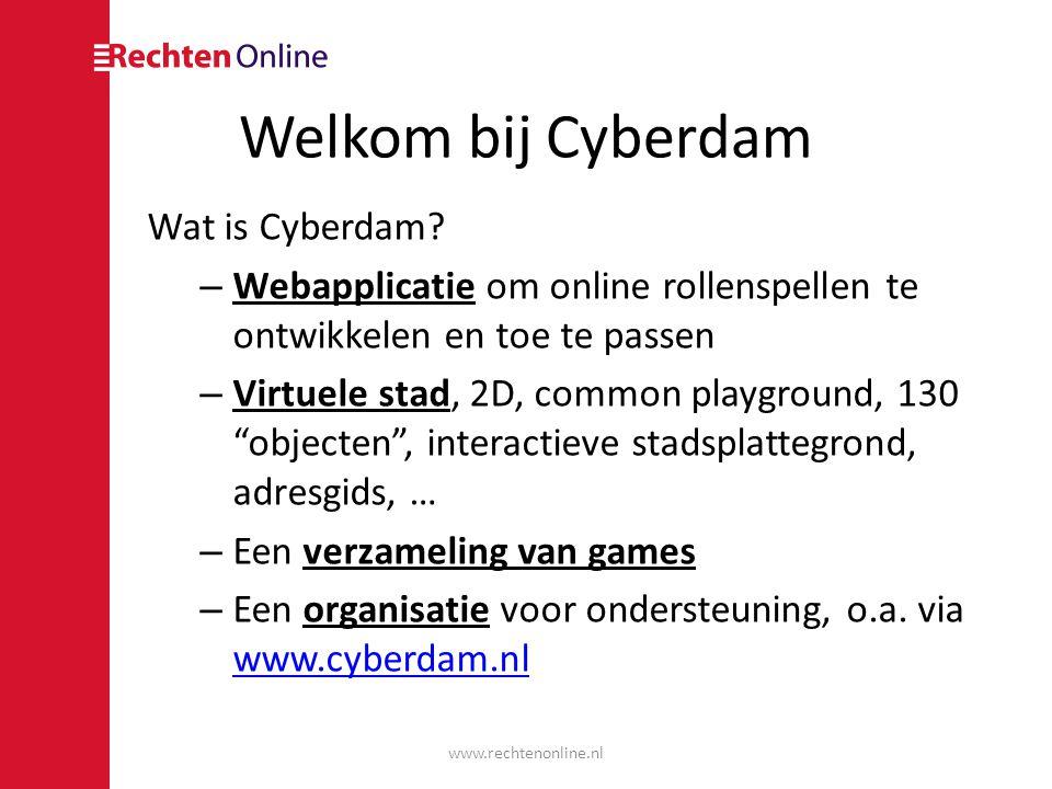 Welkom bij Cyberdam Wat is Cyberdam.