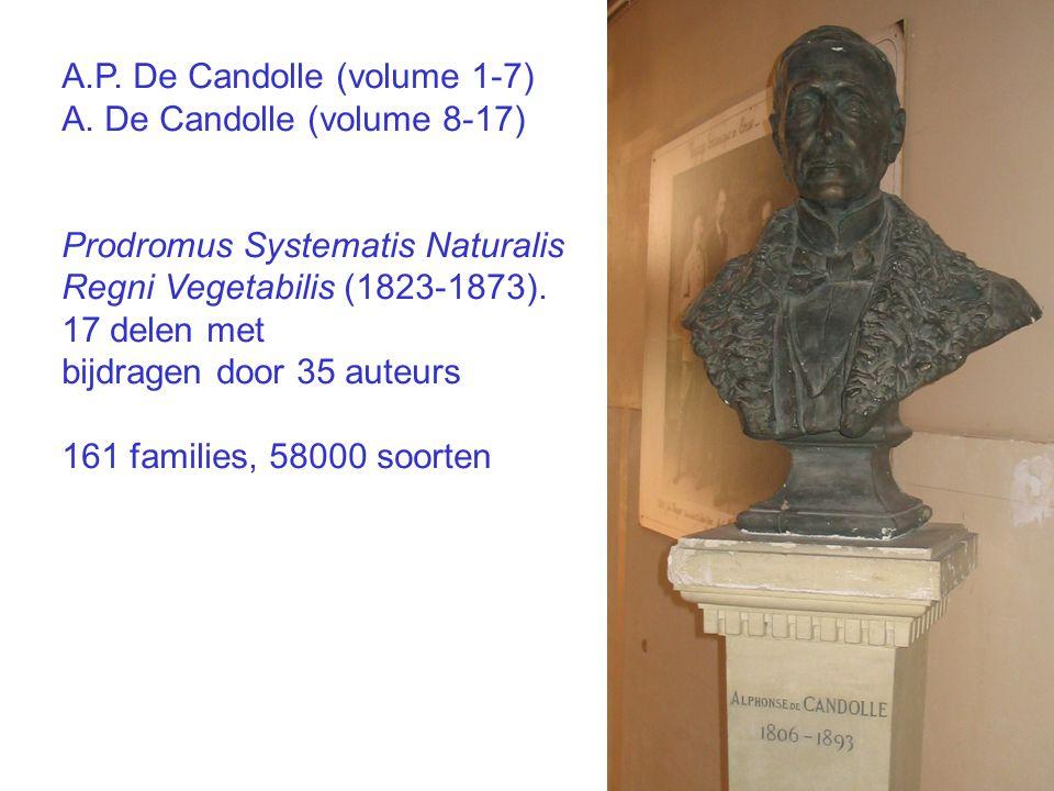 A.P. De Candolle (volume 1-7) A.