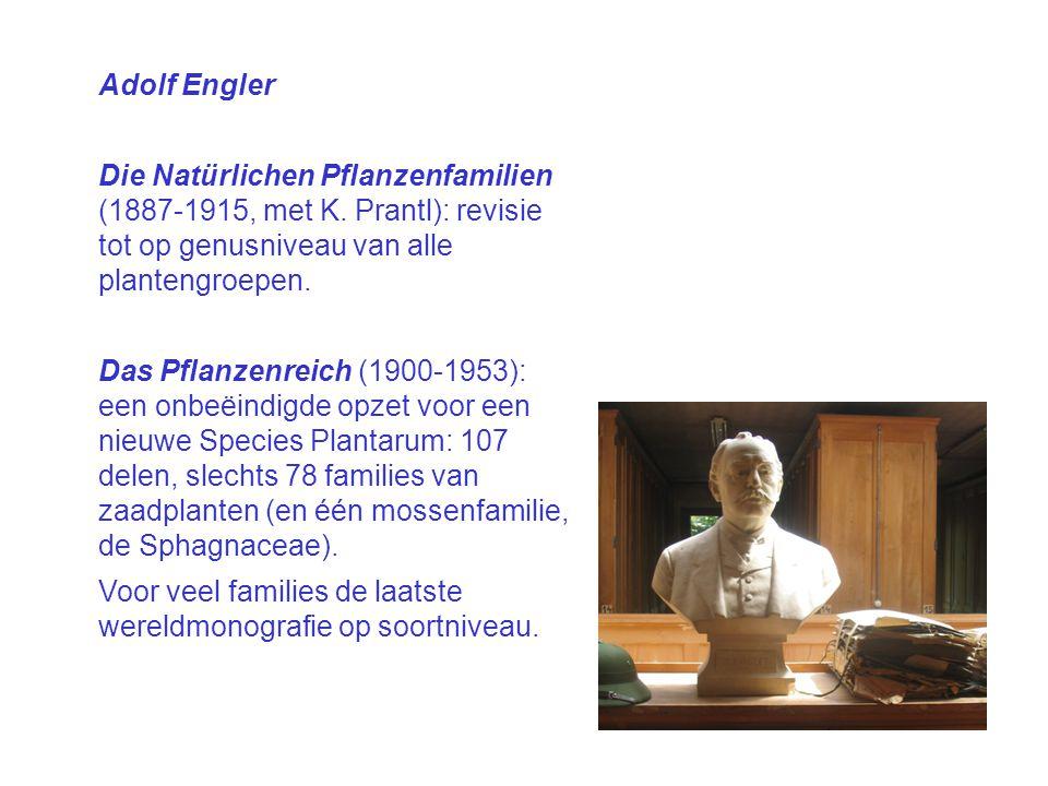 Adolf Engler Die Natürlichen Pflanzenfamilien (1887 ‑ 1915, met K.