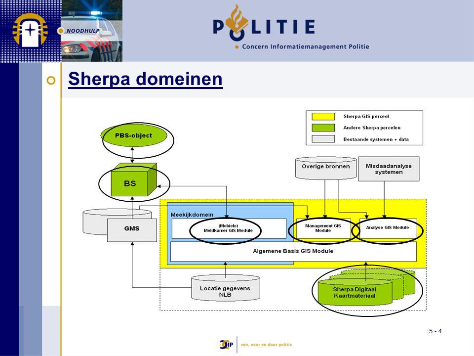 5 - 4 Sherpa domeinen