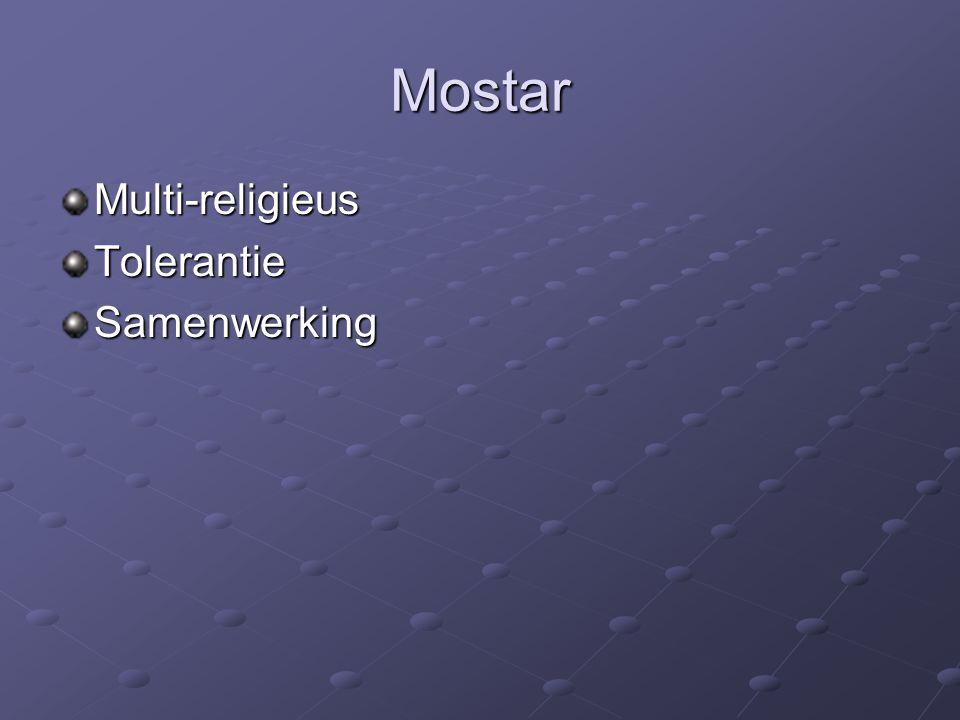 Mostar Multi-religieusTolerantieSamenwerking