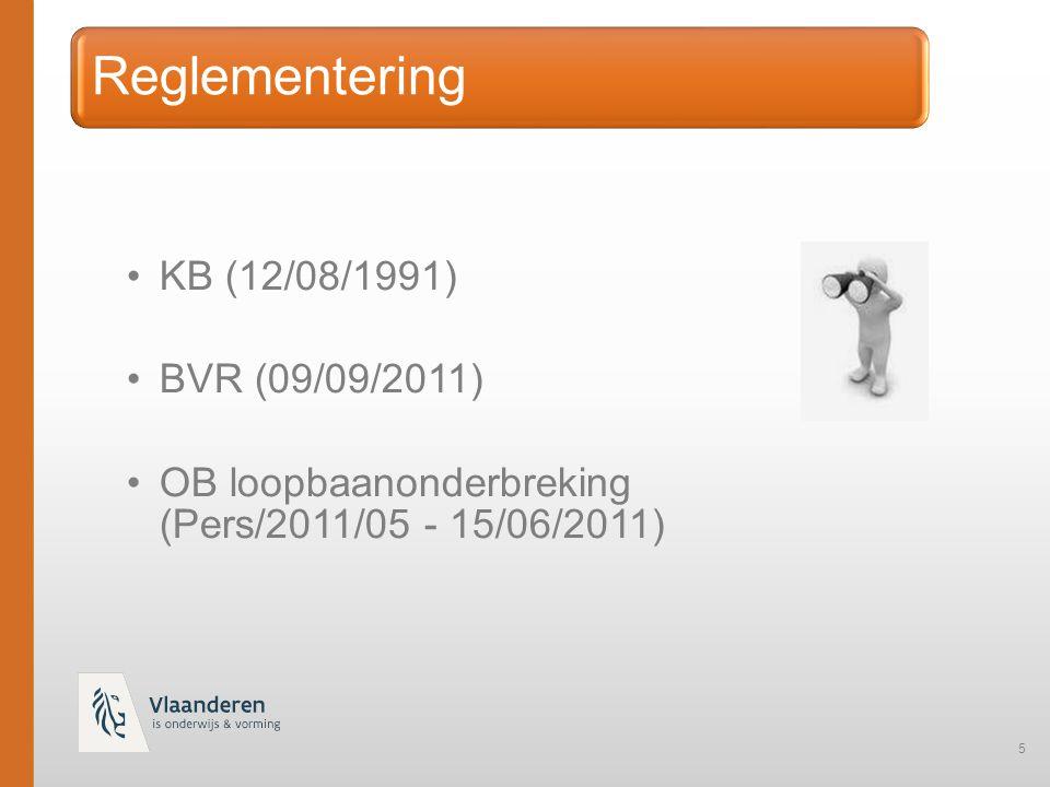 46 Herindiensttreders voorbeeld elektronische melding : tijdelijke PPW (10/10) in CLB A met VVPSFR voor 3/10 – opnieuw in dienst in CLB B voor 5/10 van 16/1 tem 20/1/2015  CLB A : RL-1 PPW (10/10) met DO 010 voor 3/10  CLB B : RL-1 PPW (5/10) met code 01 (= herintreder) in veld herwaardering (van 16/1 tot 20/1)