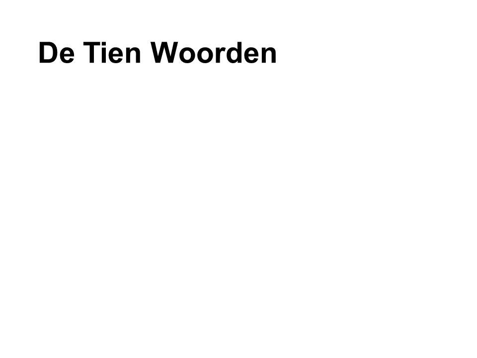 De Tien Woorden