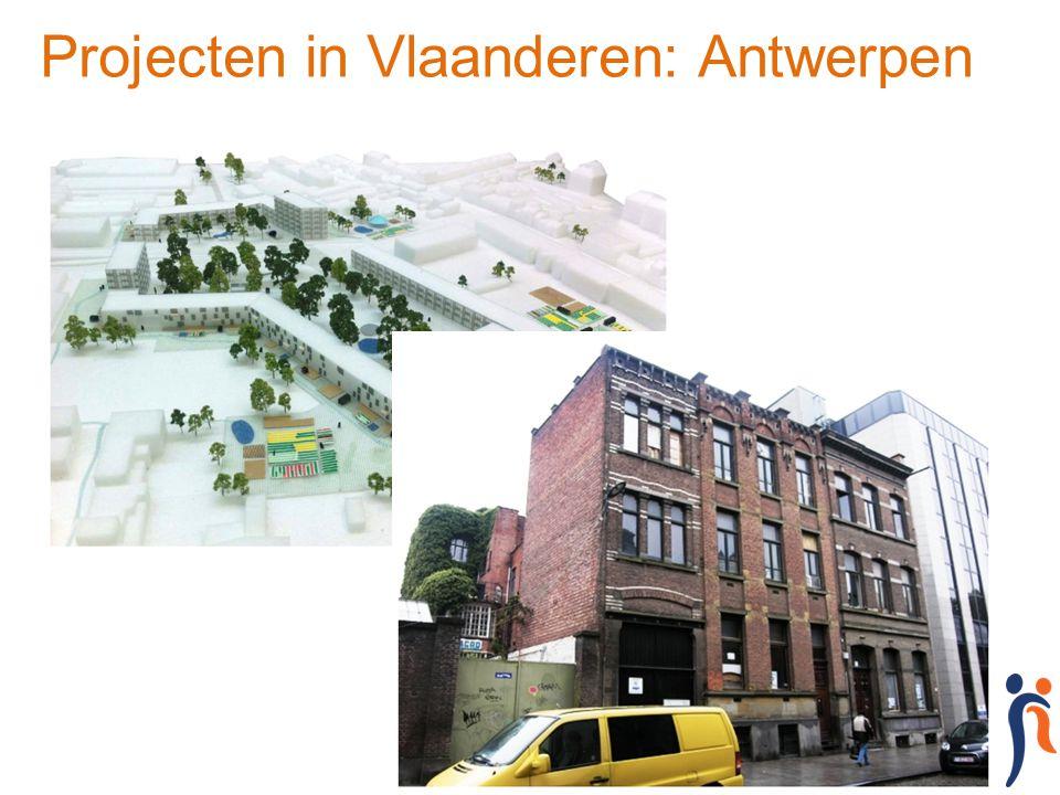 Projecten in Vlaanderen: Antwerpen