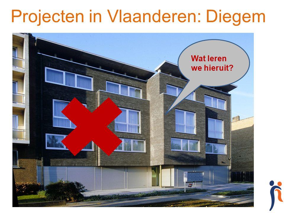 Projecten in Vlaanderen: Diegem Wat leren we hieruit?