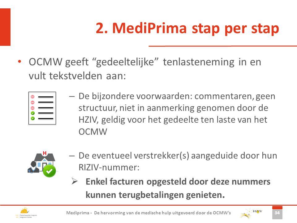 """OCMW geeft """"gedeeltelijke"""" tenlasteneming in en vult tekstvelden aan: – De bijzondere voorwaarden: commentaren, geen structuur, niet in aanmerking gen"""