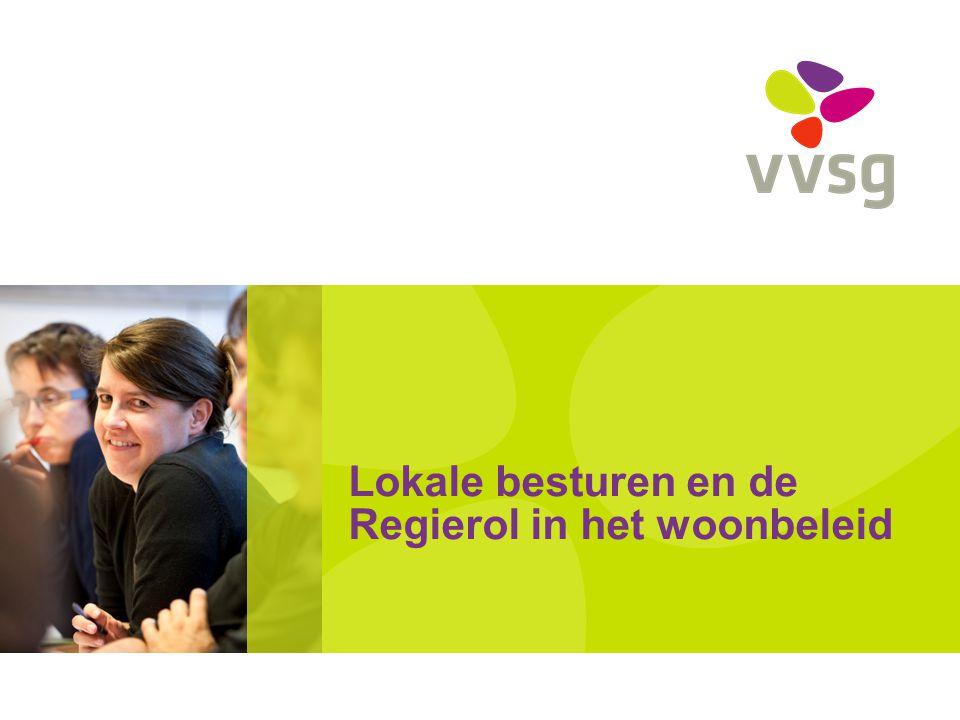 VVSG - Gemeente is de regisseur VWC, art 28.