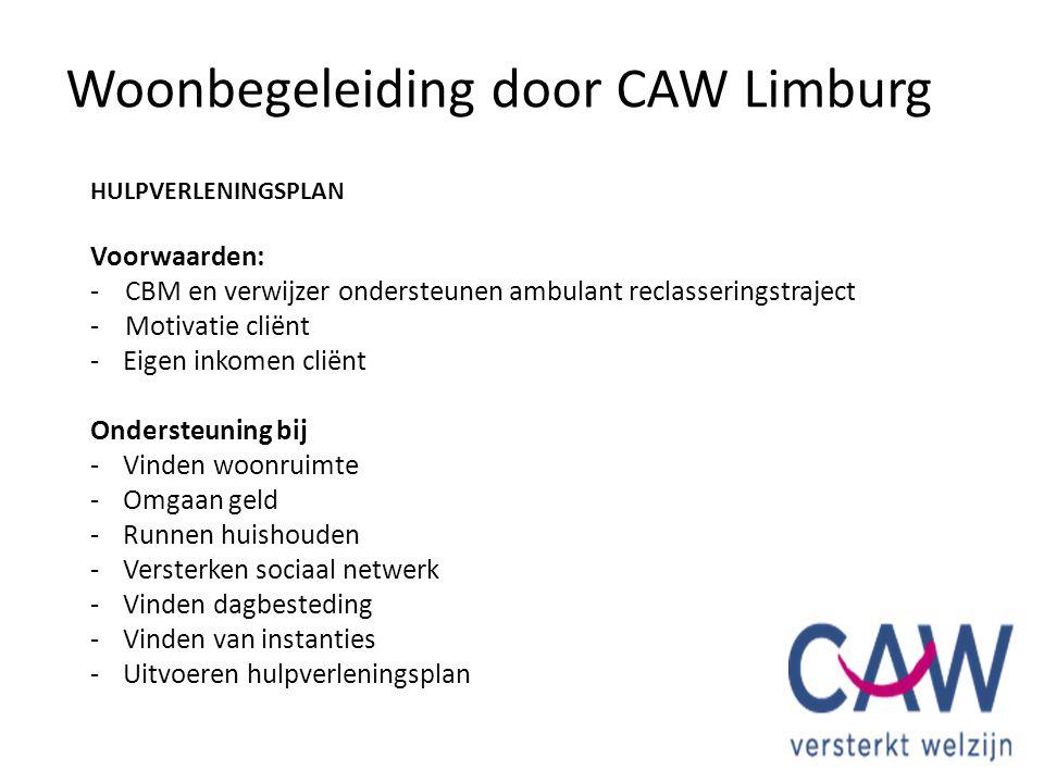 HULPVERLENINGSPLAN Voorwaarden: - CBM en verwijzer ondersteunen ambulant reclasseringstraject - Motivatie cliënt -Eigen inkomen cliënt Ondersteuning b