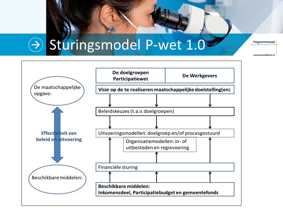 Sturingsmodel P-wet 1.0