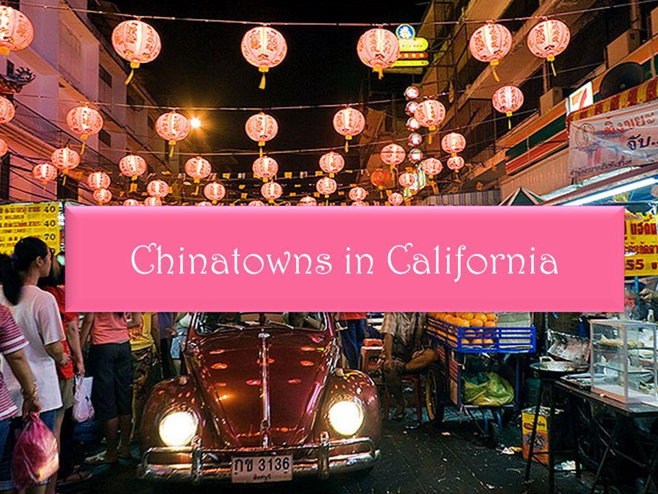 De inleiding.Hoofdvraag: Waarom zijn er Chinatowns over de hele wereld.