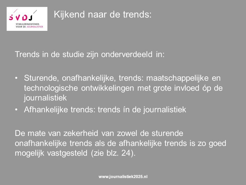 Perspectief 3 Wenselijkheid van de scenario's verkennen & mogelijkheden tot beïnvloeding onderzoeken www.journalistiek2025.nl