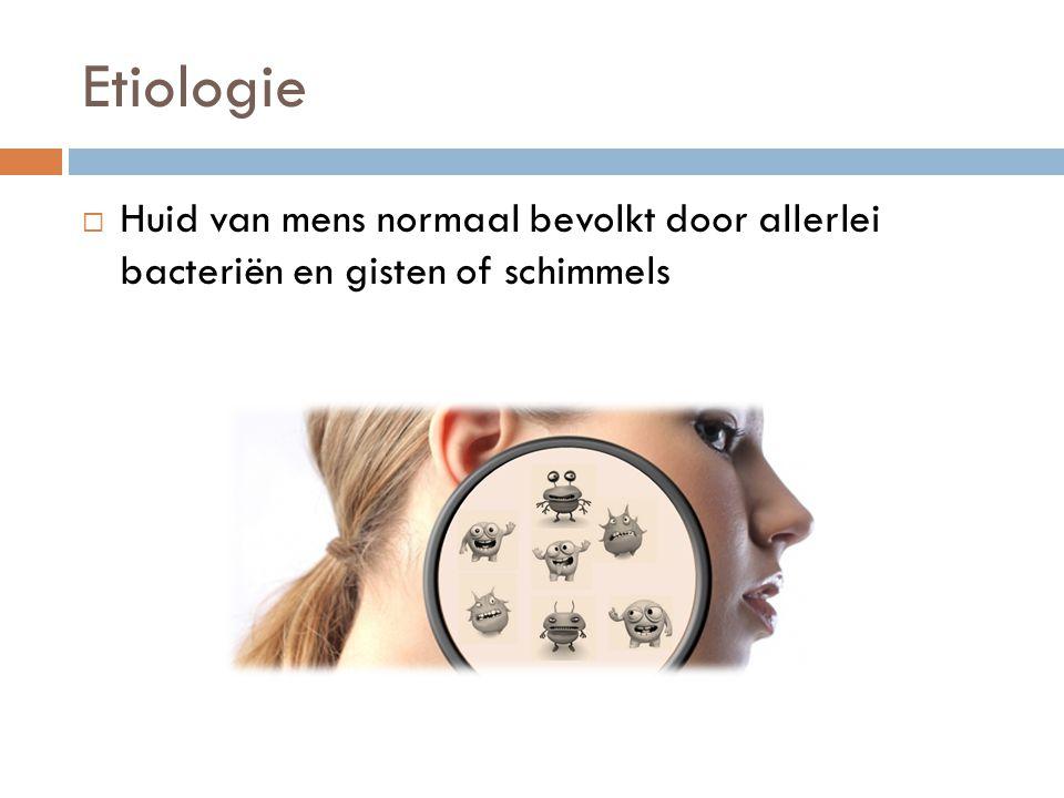 Diagnose  Twee verschillende processen :  Microscoop  Positief: - Schimmeldraden of –sporen terugvinden - Diagnose dermatomycose gesteld - Geen informatie over aard of identiteit van fungus  Negatief: sluit de diagnose niet uit  Kweek