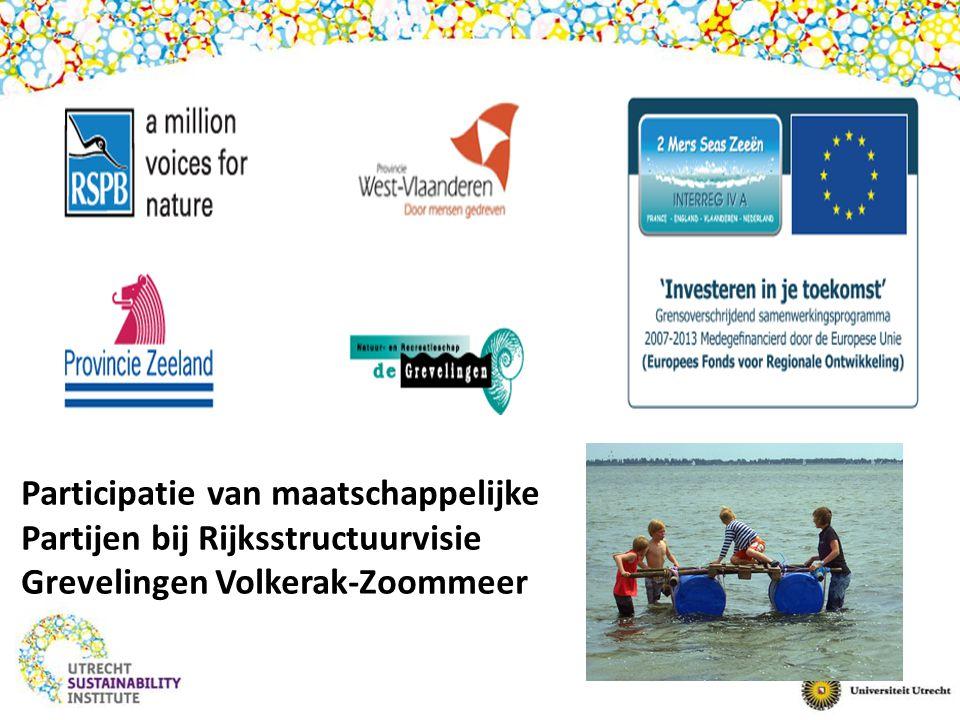 Participatie van maatschappelijke Partijen bij Rijksstructuurvisie Grevelingen Volkerak-Zoommeer