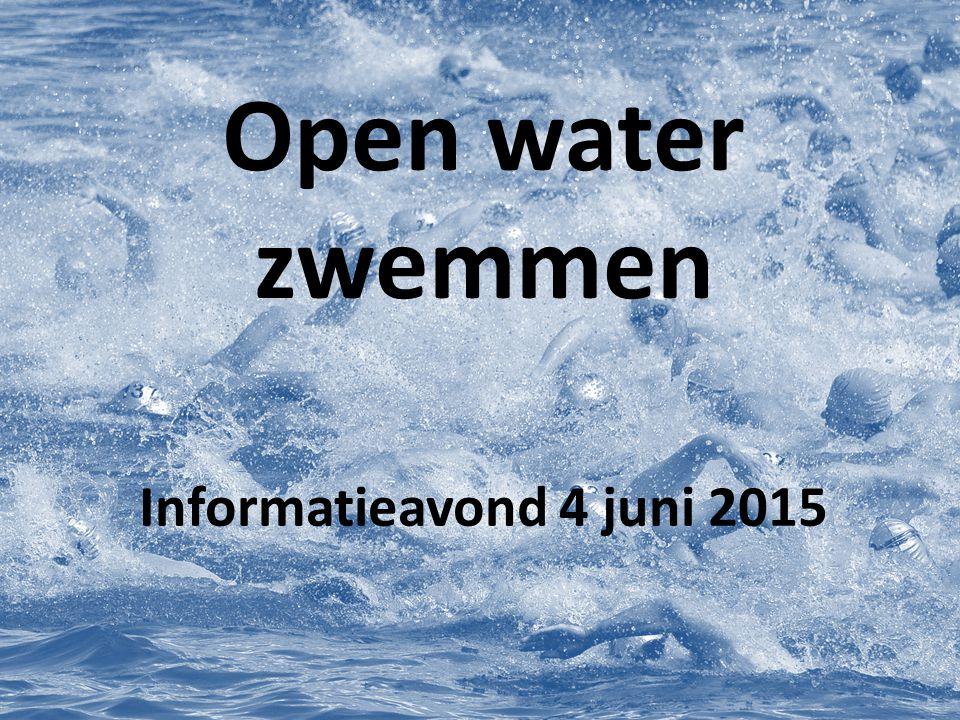 Open water zwemmen is...