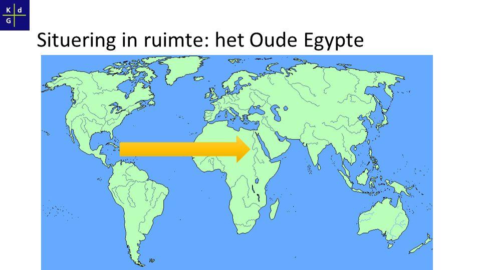 Situering in ruimte: het Oude Egypte