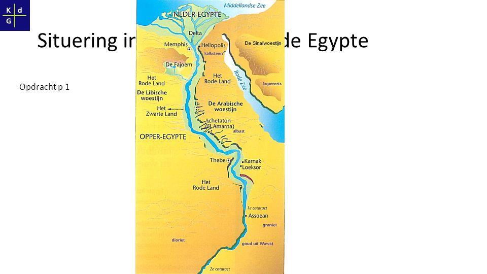 Hoe zag de Egyptische bevolking de farao?