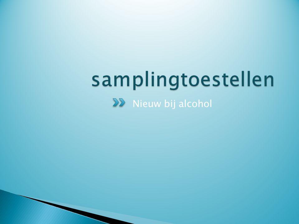 Nieuw bij alcohol