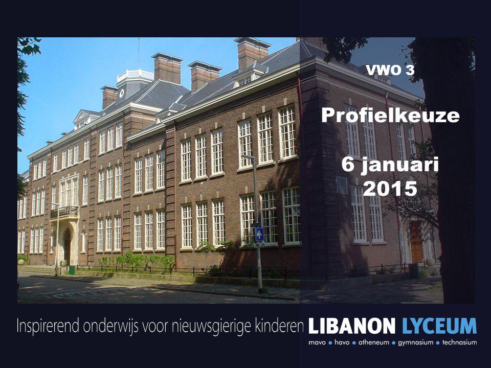 VWO 3 Profielkeuze 6 januari 2015