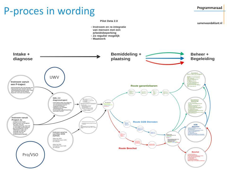 Pro/VSO UWV P-proces in wording