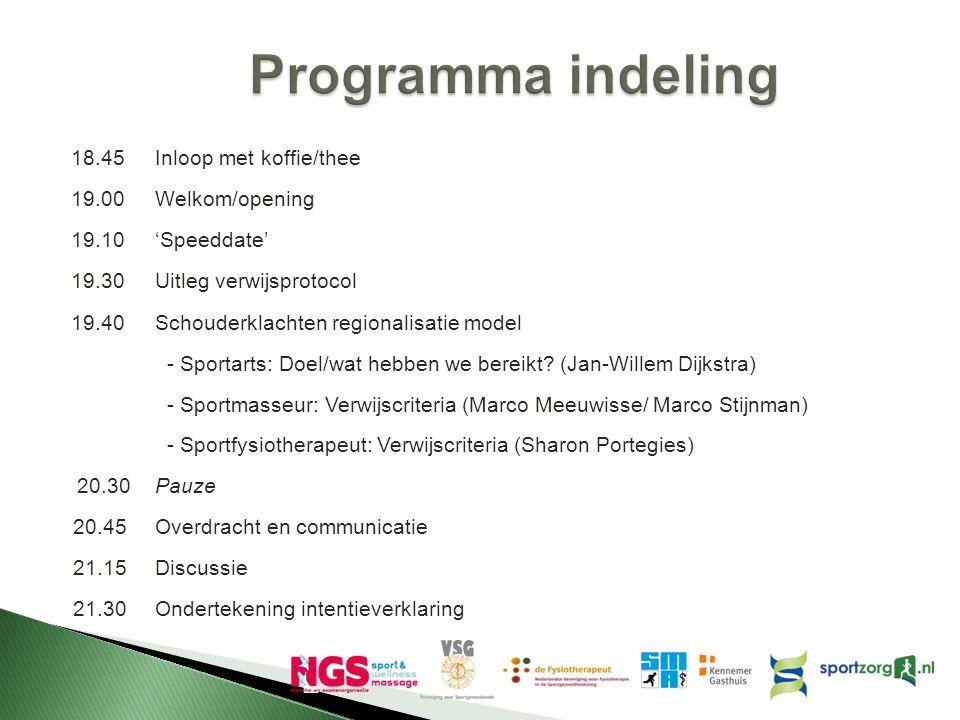  Sportgeneeskunde per 2014 medisch specialisme ◦ Verbeterde vergoedingen per.