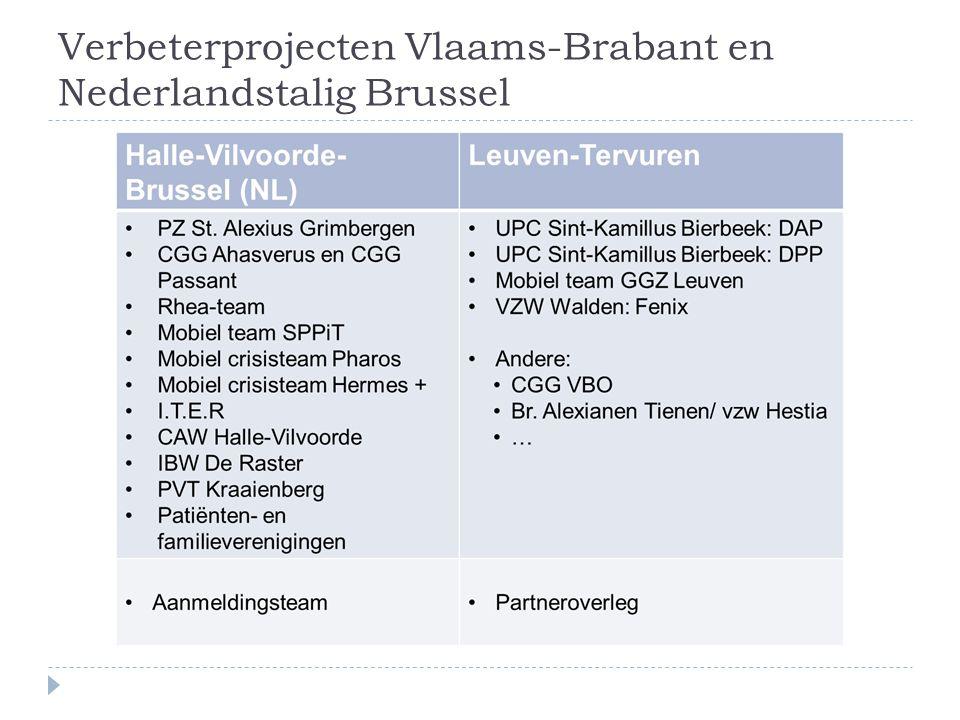 Situering  Indienende organisatie: GGZ netwerk 107 regio Leuven- Tervuren  GGZ netwerk art 107 Leuven-Tervuren  Netwerkcoördinatoren art 107:  Prof.