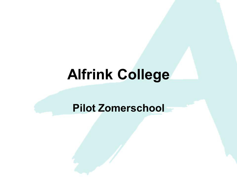 Waarom een pilot zomerschool voor 4 havo en 5 (t)vwo.