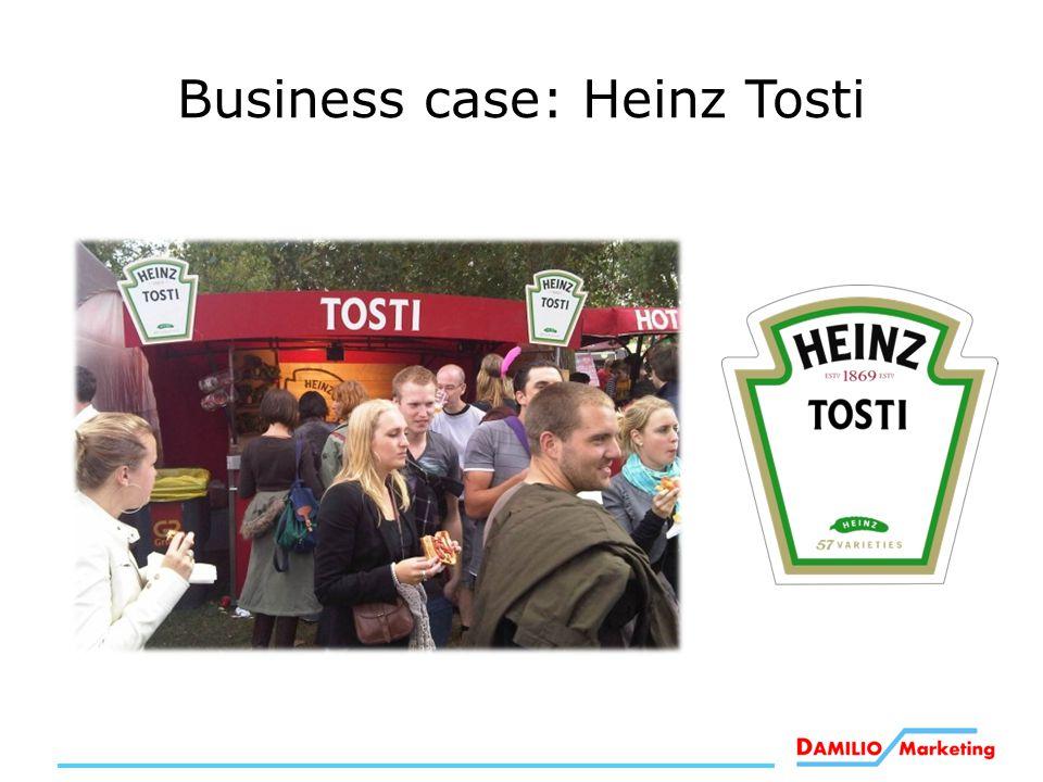 Business case: Heinz Tosti
