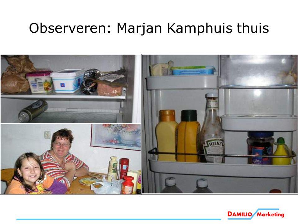 Observeren: Marjan Kamphuis thuis