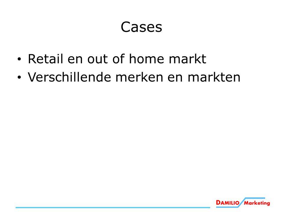 Cases Retail en out of home markt Verschillende merken en markten