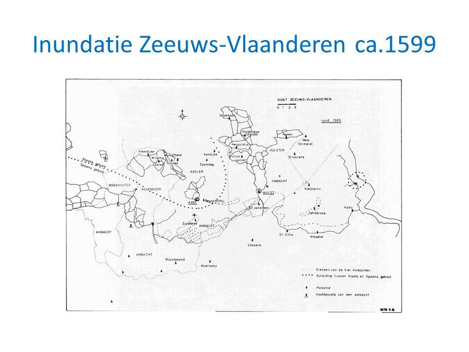 Inundatie Zeeuws-Vlaanderen ca.1599