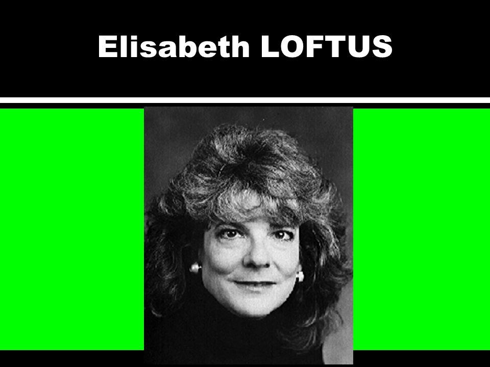Elisabeth LOFTUS