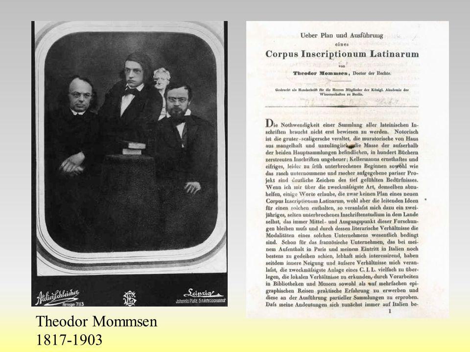 Theodor Mommsen 1817-1903