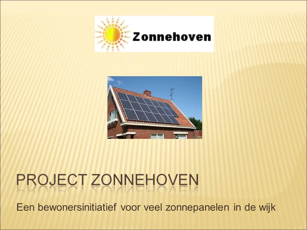 Een bewonersinitiatief voor veel zonnepanelen in de wijk