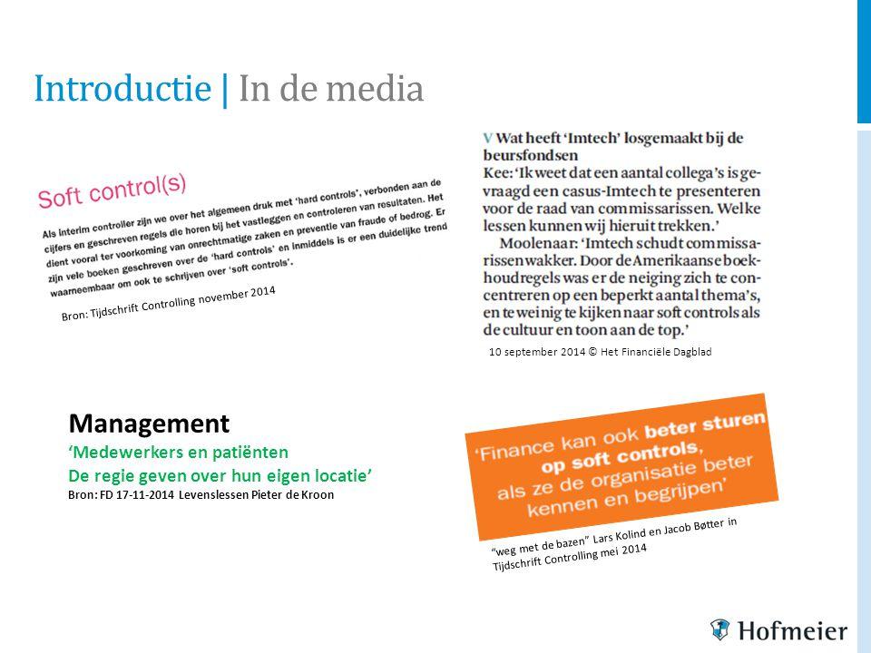 """Bron: Tijdschrift Controlling november 2014 10 september 2014 © Het Financiële Dagblad """"weg met de bazen"""" Lars Kolind en Jacob Bøtter in Tijdschrift C"""